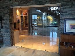 frameless glass stacking doors frameless glass pivot doors living frameless