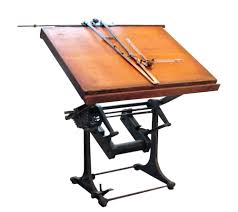 Bieffe Drafting Table Articles With Drafting Table With Parallel Bar For Sale Tag Cool