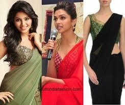 best blouse blouse combos for plain saree