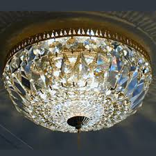 Basket Chandeliers Flush Mount Crystal Chandelier Amazing Home Design