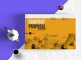 company proposal landscape template adobe indesign templates