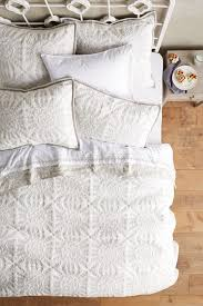 Anthropologie Bed Skirt Kloverart Coverlet Anthropologie