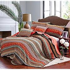 Bedding Quilt Sets Best Striped Classical Cotton 3 Patchwork