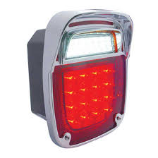 universal led tail lights big rig chrome shop semi truck chrome shop truck lighting and