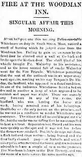 smith on wdytya newspapers reveal a story of arson the
