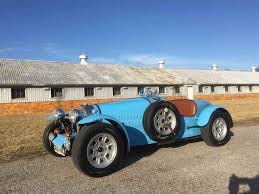 vintage bugatti race car 1971 bugatti type 37 replica factory built not a kit car for