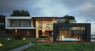Modern Home Exteriors With Stunning Outdoor Spaces - Exterior modern home design