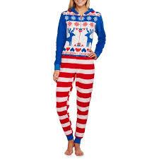 sweater print s sleepwear onesie union