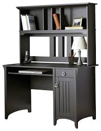 Bush Desks With Hutch Computer Desk With Hutch Black Bush Furniture Salinas Mission