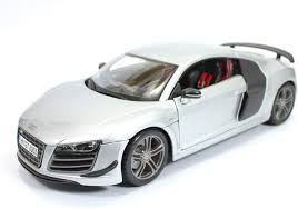 Audi R8 Models - maisto audi r8 gt silver 1 18 by maisto diecast scale model car