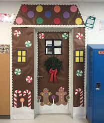 Office Door Decoration Backyards Gingerbread Door Decorations Gingerbread Classroom