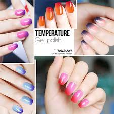 amazon com mix soak off uv led nail gel polish temperature