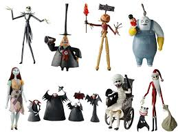 nightmare before figurines decor inspirations