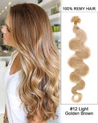 16 u201d 30 light auburn straight nail tip u tip 100 remy hair