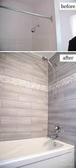 bathroom ideas tile our bathroom remodel greige subway tile and more subway tile