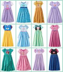 kohl s disney princess dress up nightgowns 7 93 regularly 32