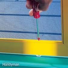 Patio Screen Door Repair Sliding Screen Door Repair Tips Family Handyman