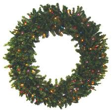 pre lit battery operated garland wreath with timer