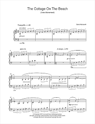 Cottage By The Beach by The Cottage On The Beach From Atonement Sheet Music By Dario
