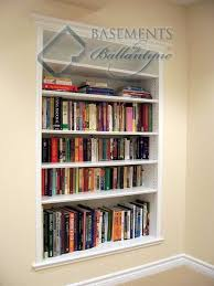 Wall Bookshelves Pretty Recessed Wall Shelves Impressive Decoration Between The