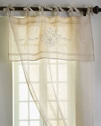 Tie Top Curtains Each Classica Curtain By Pom Pom At Home Tie Top Curtains Of