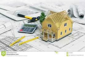 concept of construction and architect design stock photo image
