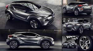 toyota motor corporation toyota c hr concept 2015 pictures information u0026 specs