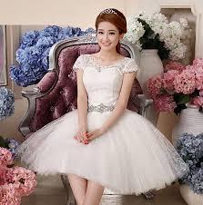 robe de mariã e avec dentelle de princesse courte suosikki 2017 princesse robe de mariage blanc