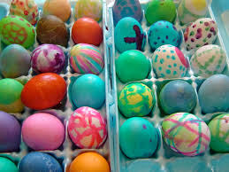 Coloring Eggs History Of Easter Traditions U2013 Train Up The Child