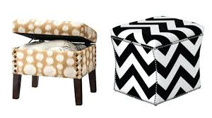 Ottoman Small Small Footstools With Storage Lovable Small Storage Ottoman