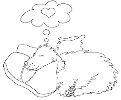 puppy love cute coloring page by chubby art cartoons diy