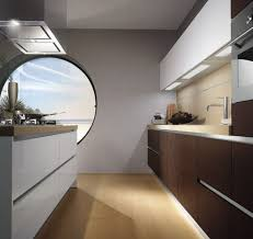 modern kitchen cabinet with round window home design and home