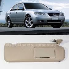 2008 hyundai sonata sun visor genuine 2006 2008 hyundai sonata sun visor beige rh passenger side
