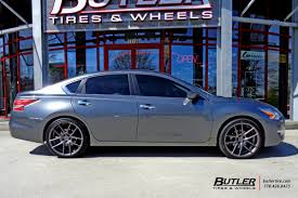 nissan altima coupe wheels nissan altima with 20in niche targa wheels exclusively from butler