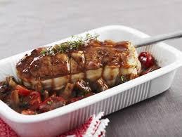recette de cuisine roti de veau rôti de veau aux chignons et tomates au thym maggi