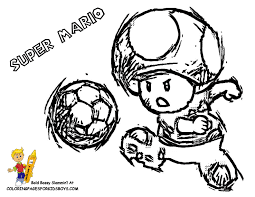 mario mushroom coloring pages getcoloringpages