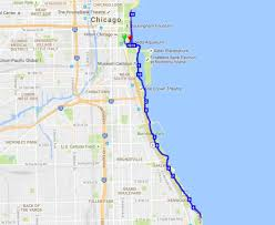 Map Chicago Chicago Polar Dash World U0027s Marathons