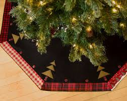 rustic tree skirt etsy