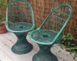 Vintage Woodard Patio Furniture by Russell Woodard Etsy