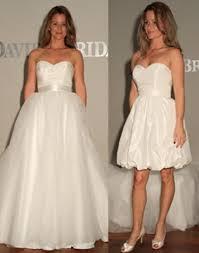 wedding dress david bridal david s bridal white polyester taffeta style casual