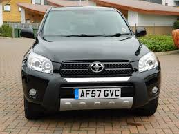 toyota rav4 2 0 xt r 5dr petrol manual 4x4 wheel drive 2007
