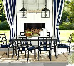 patio ideas pottery barn outdoor table and chairs pottery barn