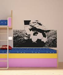 vinyl wall decal sticker soccer ball and cleats 5075 vinyls love this soccer decal for a teen boys room