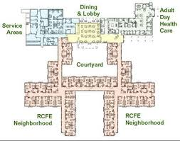 floor plans nursing home home design and style