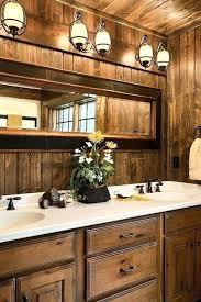cabin bathroom ideas log cabin bathrooms thenorthleft com