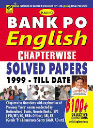 Career Objective For Bank Buy Bank Po English Language Chapterwise Solved Papers 1723 Book