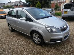 used vauxhall zafira club for sale motors co uk