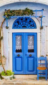 royal blue front door home design ideas