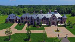 magnificent and majestic luxury stone mansion inspired by a
