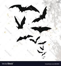 halloween background vertical halloween background with flying bats royalty free vector